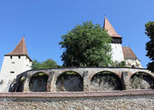 Biertan fortified church — Stock Photo