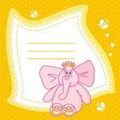 Elephant_frame — Stock Vector