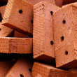 Brick  clay  heap — Stock Photo
