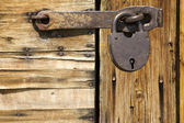 Tool lock closed — Stock Photo