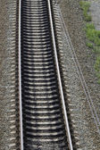 Railway concrete sleepers — Stockfoto
