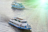 Ship river travel water — Stock Photo