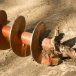 Tool industrial screw earthmoving — Lizenzfreies Foto