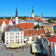 Tallinn, Town Hall Square - Stock Photo