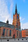 Stockholm. Knight's Church — Stock Photo