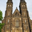 Prague.  St.Peter and Paul in  Vysehrad — Stock Photo