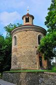 Prague, Vysehrad. Rotunda of St.. Martin, 11 century — Stock Photo