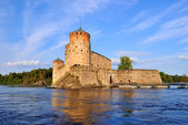 Fortress Olavinlinna. Finland — Stock Photo