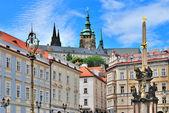 Prague. Lesser Town Square — Stock Photo