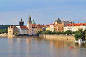 Praga w godzinach wieczornych — Zdjęcie stockowe