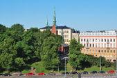 Helsinki. District of South Harbor Embankment — Stock Photo
