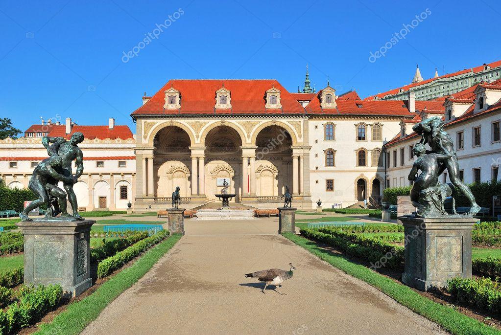 Prague palais wallenstein photographie estea estea for Jardin wallenstein