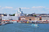 Helsinki, view from the sea — Stock Photo