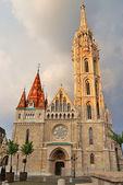 Budapeşte, aziz matthias — Stok fotoğraf