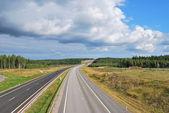 Roads of Finland — Stockfoto