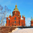 Helsinki. Assumption Cathedral — Stockfoto #6675008