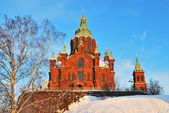 Helsinki. Assumption Cathedral — Stock Photo