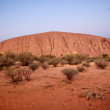 Lights of Ayers Rock, Australia — Stock Photo #6096152