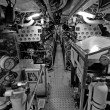Royalty-Free Stock Photo: Submarine Interior, Sydney