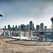 Stock Photo: View of Miami from Cruise Ship