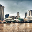 New Orleans Buildings, Louisiana - Stock Photo