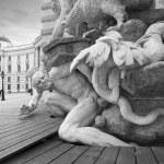 Sculpture Detail in Vienna — Stock Photo #6097714