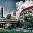 Buildings of Singapore - Stock Photo