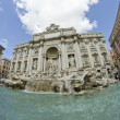 Trevi Fountain in Rome — 图库照片