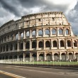 Colosseum under a Stormy Sky, Rome — Stock Photo