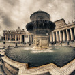 Piazza San Pietro, Vatican City — Stock Photo