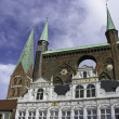 Lubeck, Germany — Stockfoto