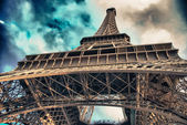 Eiffel Tower, Paris — Stock fotografie
