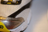 Macro of a Tennis Shoe — Stock Photo