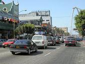 Cars blocked in the Tijuana Traffic, Mexico — Stock Photo