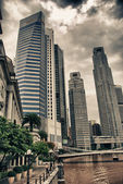 Buildings of Singapore — Stock Photo
