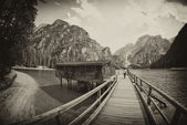 Braies Lake, Italy — Stock Photo
