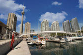 Toronto view from the Pier — Stock Photo