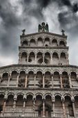 Architecture Detail of Lucca, Italy — Stockfoto