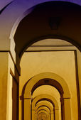 Arkitektoniska detaljer nära ponte vecchio, florens — Stockfoto