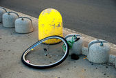 Stolen Bicycle — Stock Photo