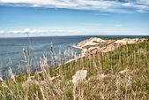 Aquinnah Beach in Martha's Vineyard — 图库照片