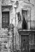 Detail of Corsica Architecture — Stock Photo