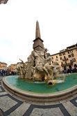 Piazza navona, rzym — Zdjęcie stockowe