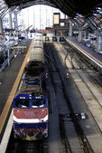 Southern Cross Train Station, Melbourne — Stock Photo