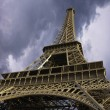 Stock Photo: Eiffel Tower seen from Below, Paris