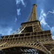 Eiffel Tower seen from Below, Paris — Stock Photo