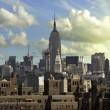 new york city View brooklyn Köprüsü'nden — Stok fotoğraf