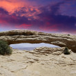 Nature of Arches National Park - Stock Photo
