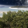 Starry Night in the Whitsunday Archipelago, Australia — Stock Photo