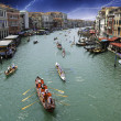 Water Traffic in Venice Canal — Stock Photo
